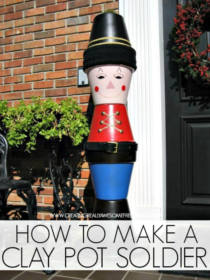 Adorable DIY Terra Cotta Soldier