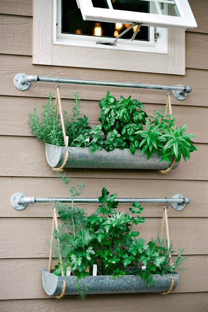 How to Build Metallic 2 Tiered Herb Garden