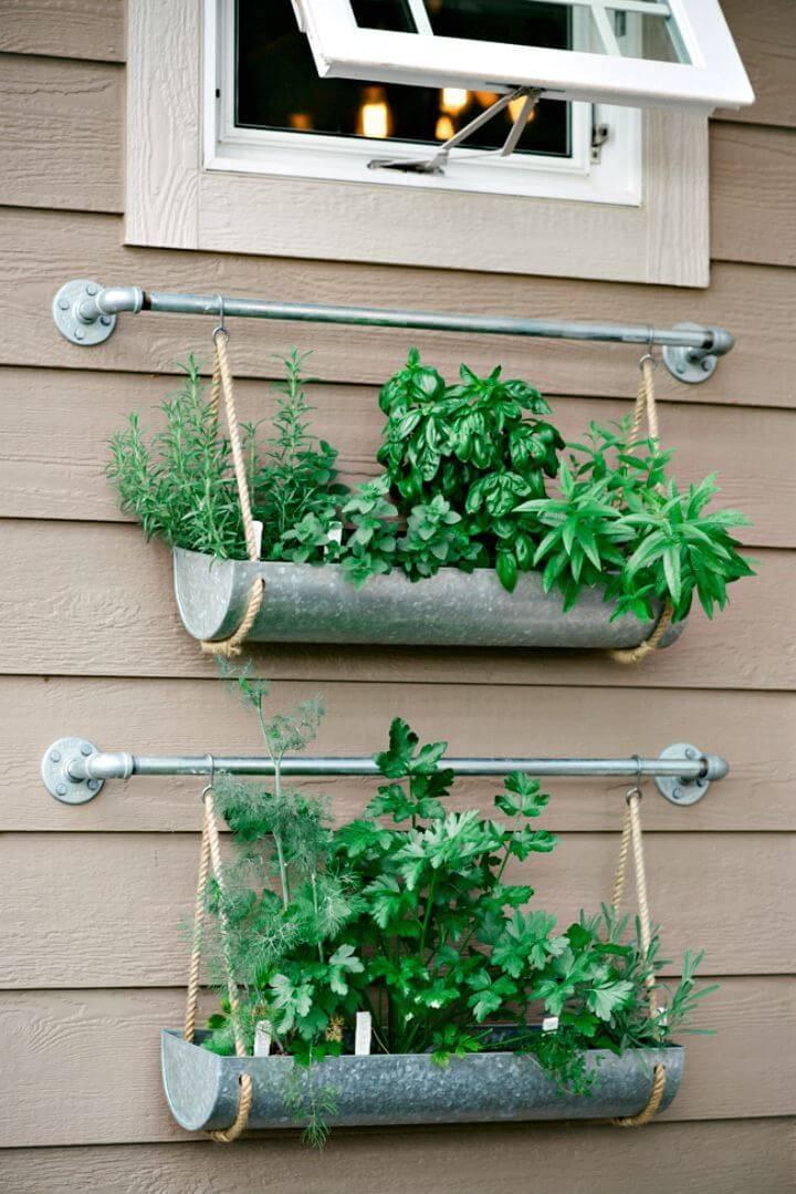 How to Build Metallic 2 Tiered Herb Garden