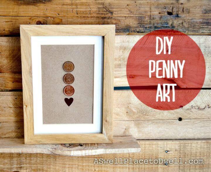 Cute DIY Penny Art Tutorial