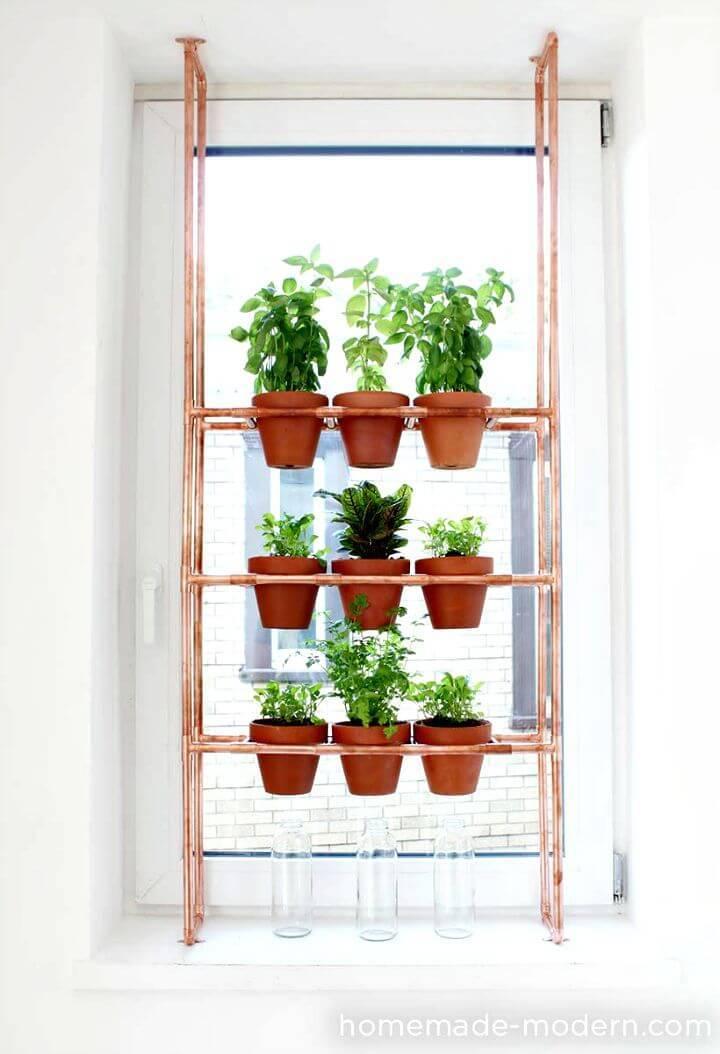 How to build Copper Herb Garden