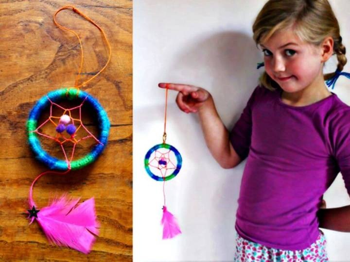 Make Your Own Dream-catcher Craft - DIY