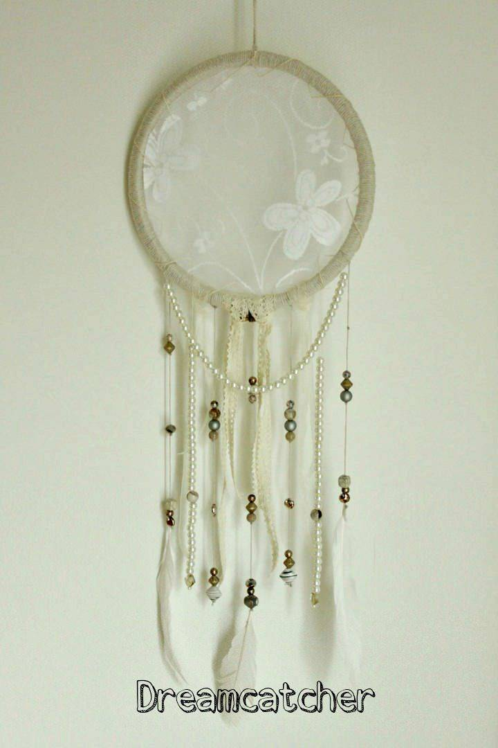 Pretty DIY Dream-catcher