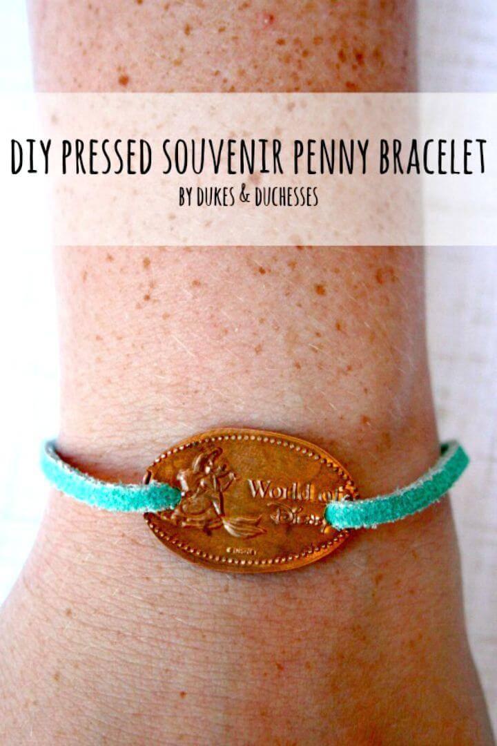 Make a Pressed Souvenir Penny Bracelet