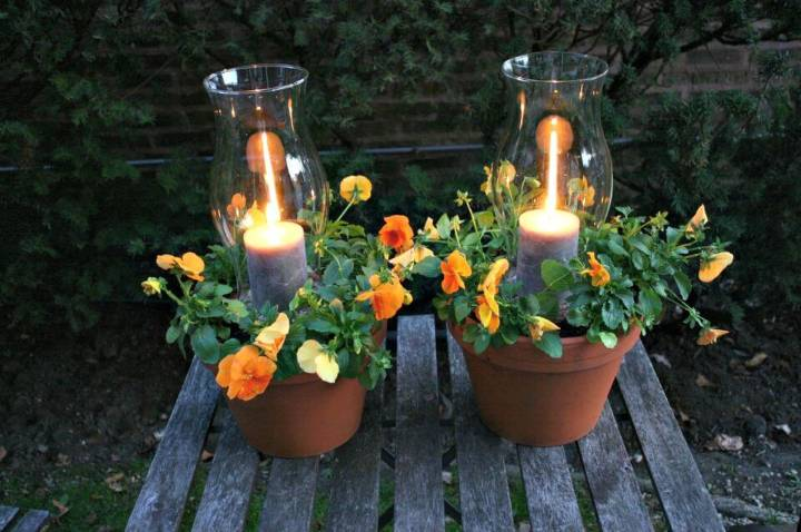 Make Your Own Potted Candle Planters
