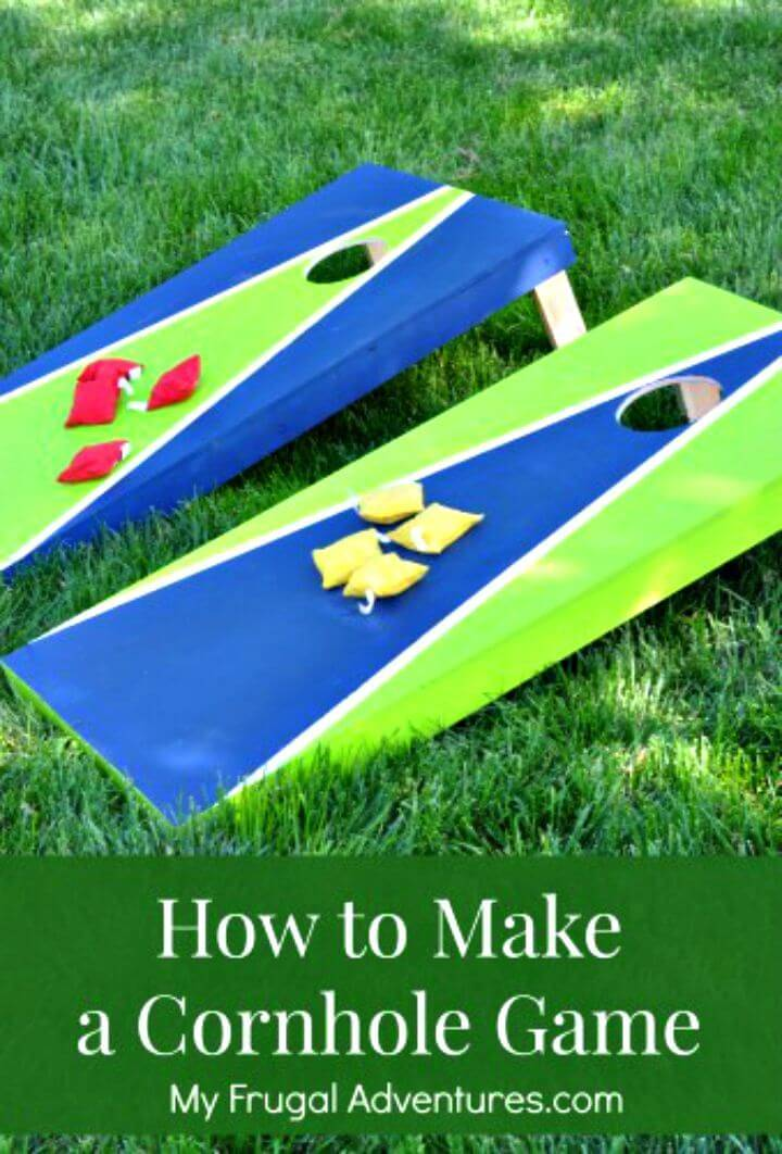 Awesome DIY Cornhole Game