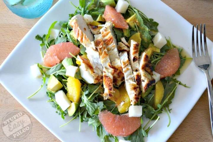Best Citrus Avocado Salad Recipe With Chicken