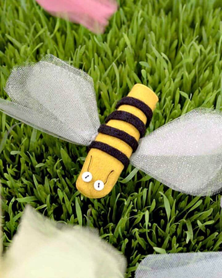 DIY Insect Finger Puppets