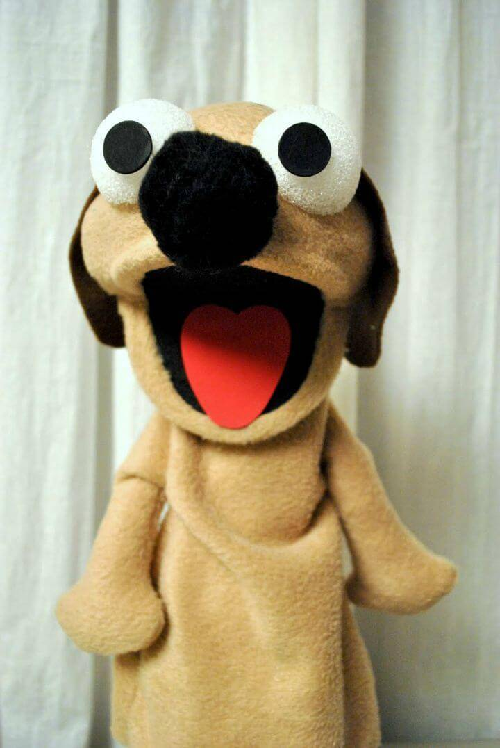 Create Your Own Dog Puppet - DIY for Kids