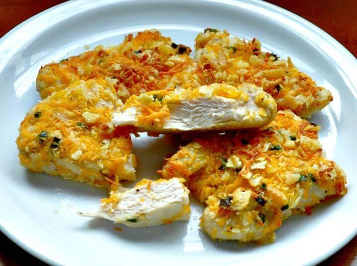 Crispy Cheddar Chicken Recipe