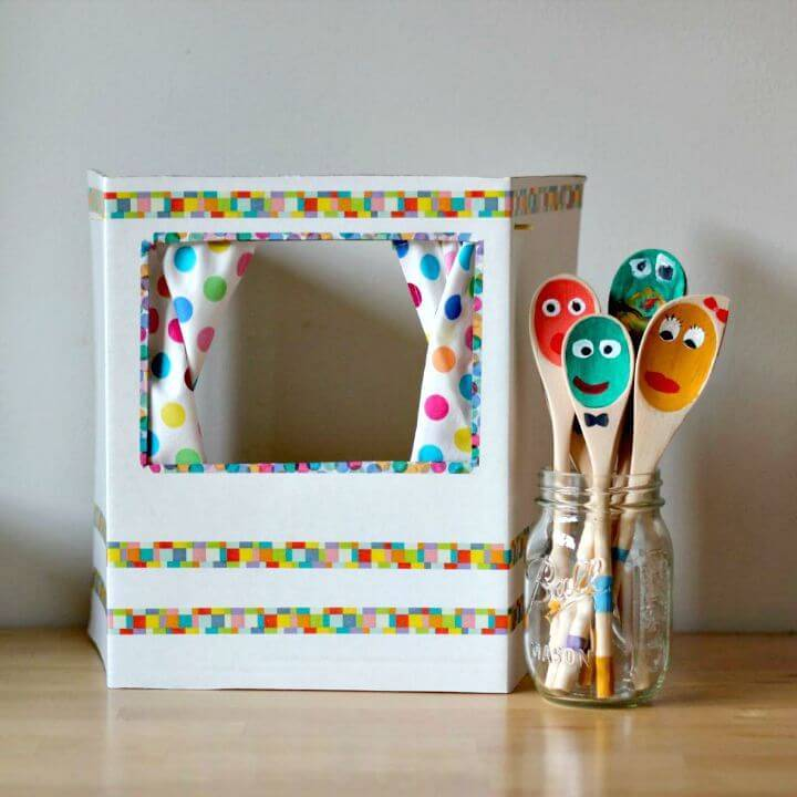 DIY Puppet Theater for Kids