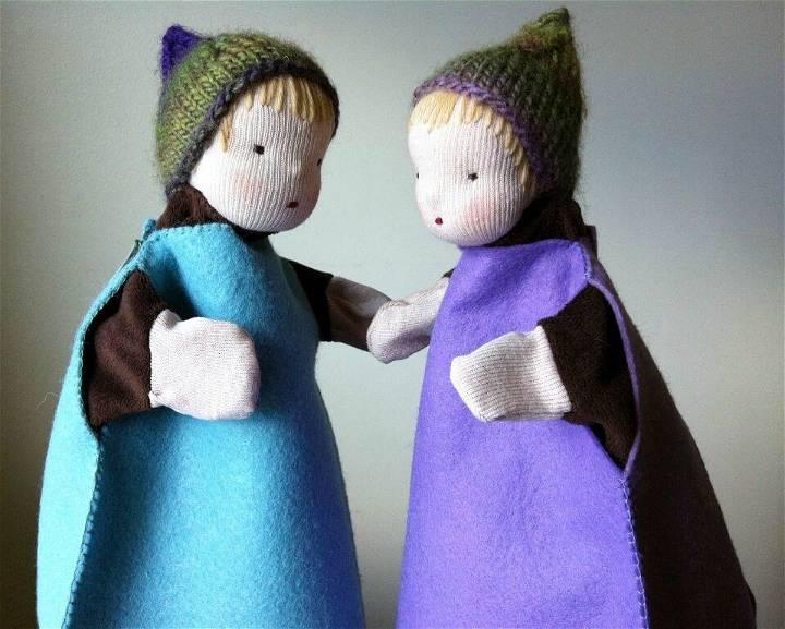 DIY Waldorf Inspired Glove-puppets