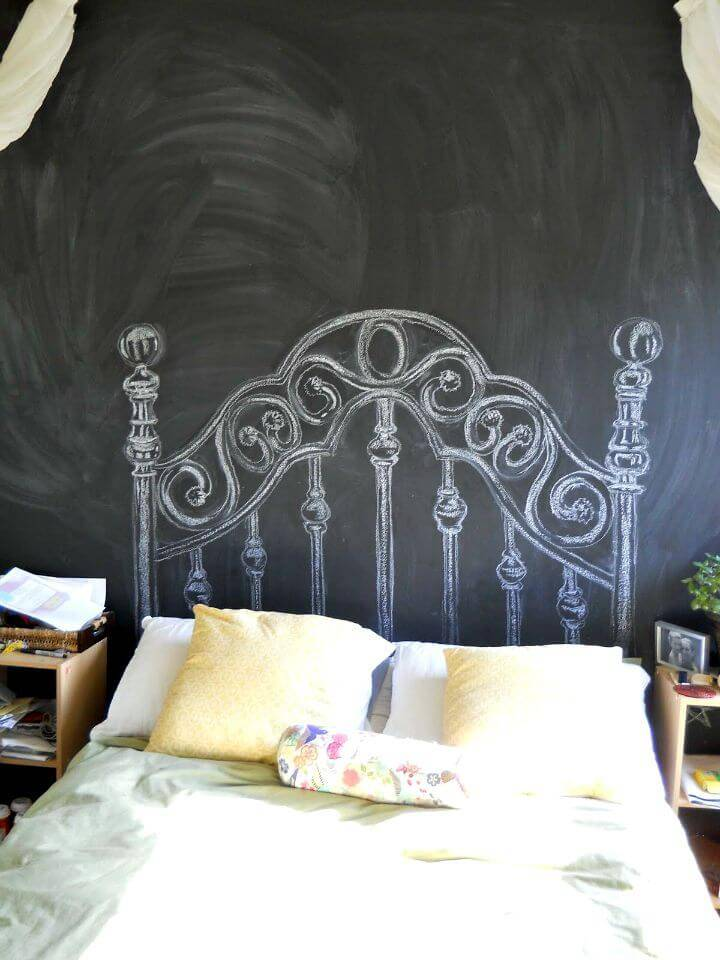 Fun DIY Almost Free Headboard