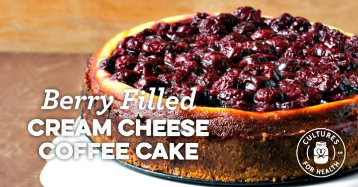 Prepare Berry-filled Cream Cheese Coffee Cake Recipe