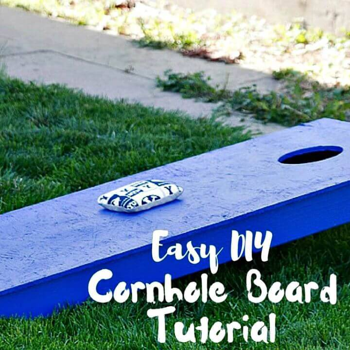 How to Make Cornhole Board