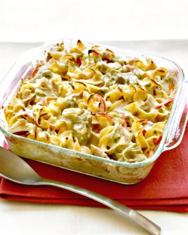 Mediterranean Tuna-noodle Casserole Recipe - DIY