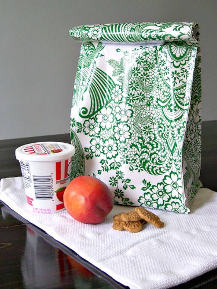 How to Make Oilcloth Lunch Bag