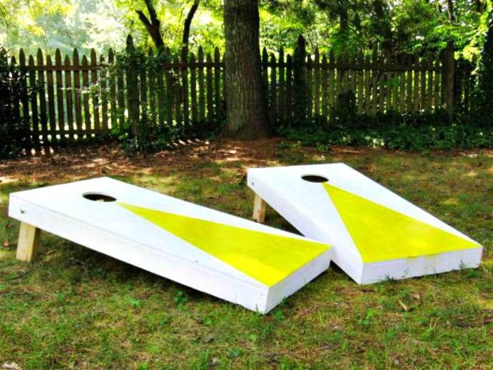 Easy DIY Regulation Cornhole Set