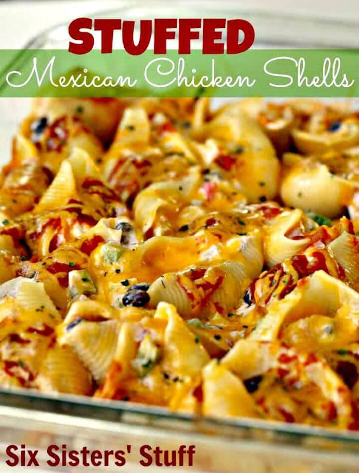 How to Make Stuffed Mexican Chicken Shells