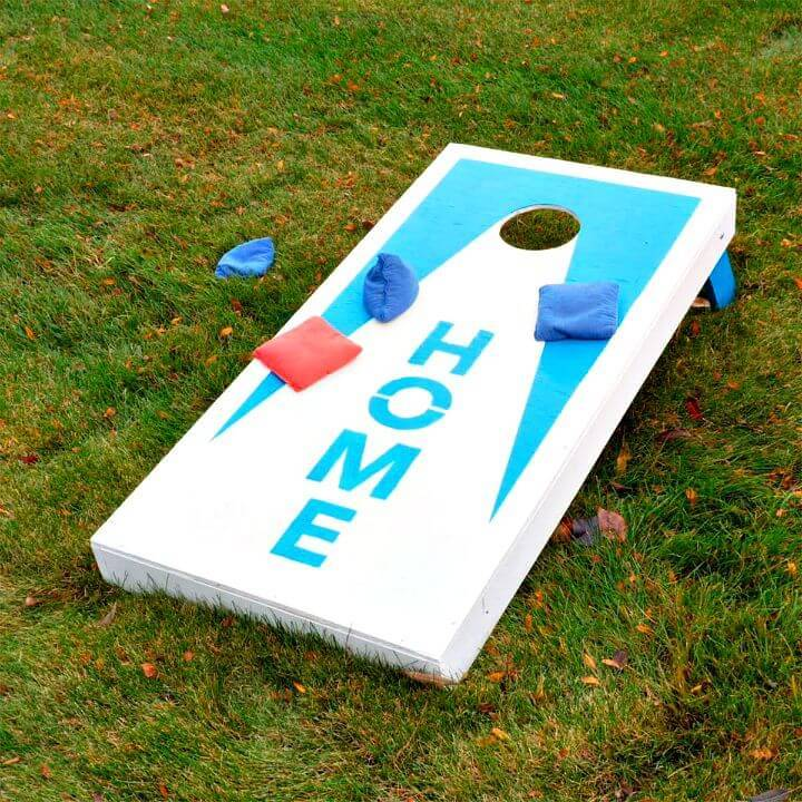 Inexpensive DIY Cornhole Board