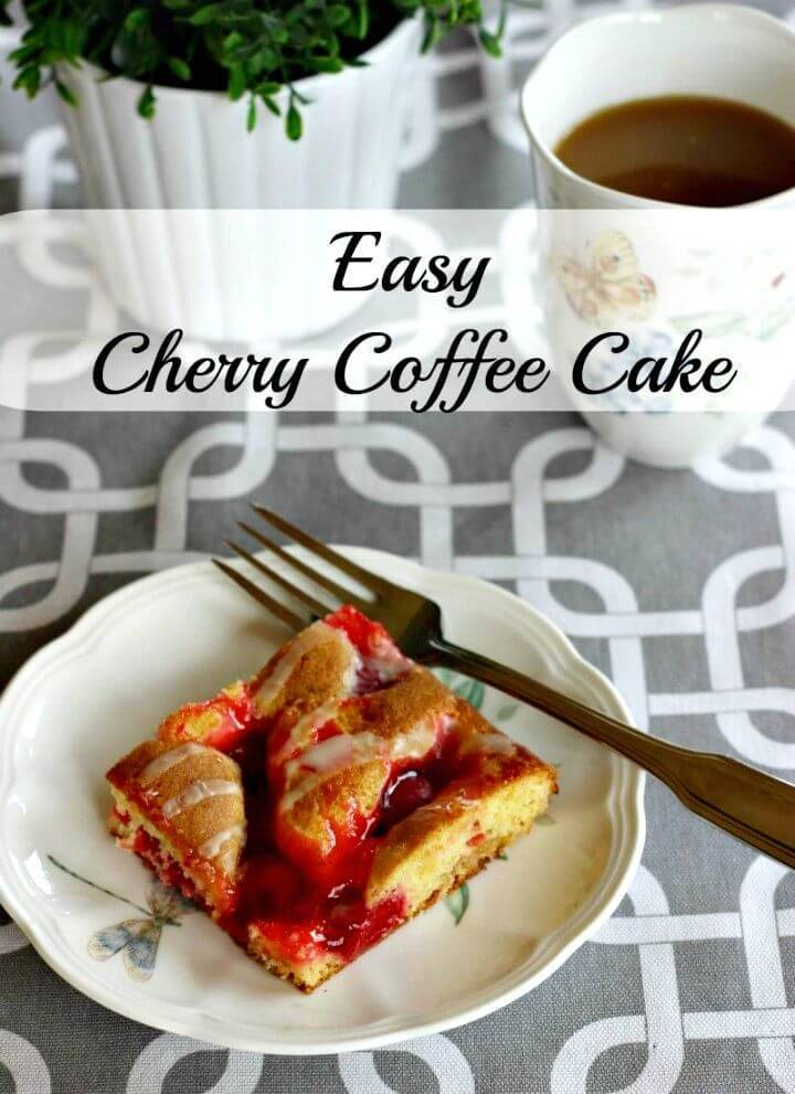 Make Cherry Coffee Cake Recipe