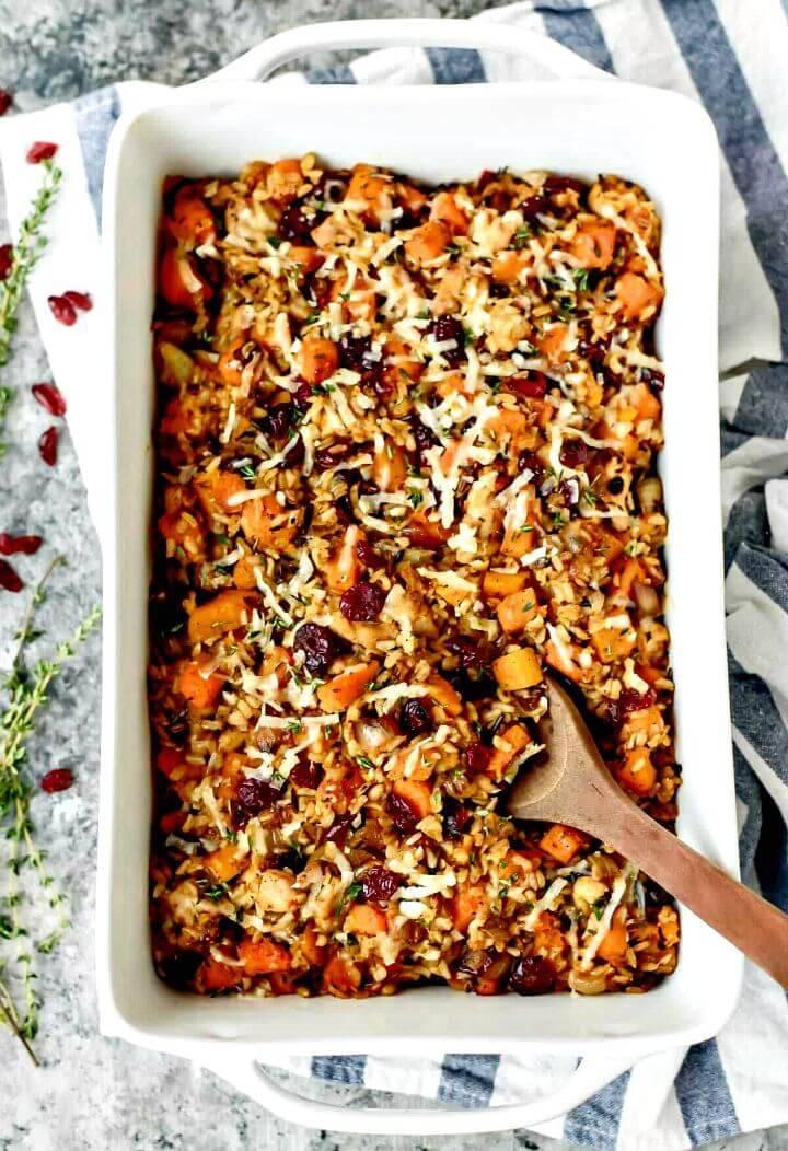 Chicken and Wild Rice Casserole Recipe - DIY