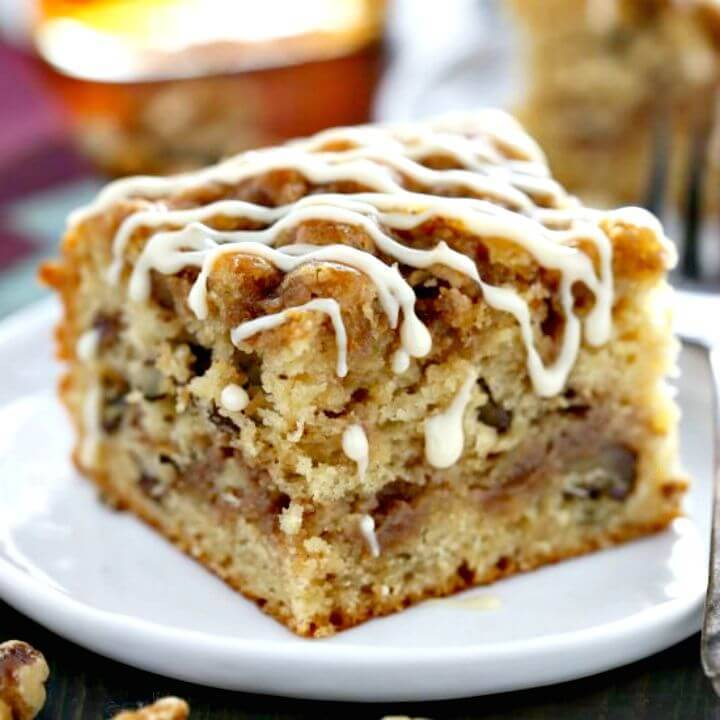 Best Maple Walnut Coffee Cake Recipe