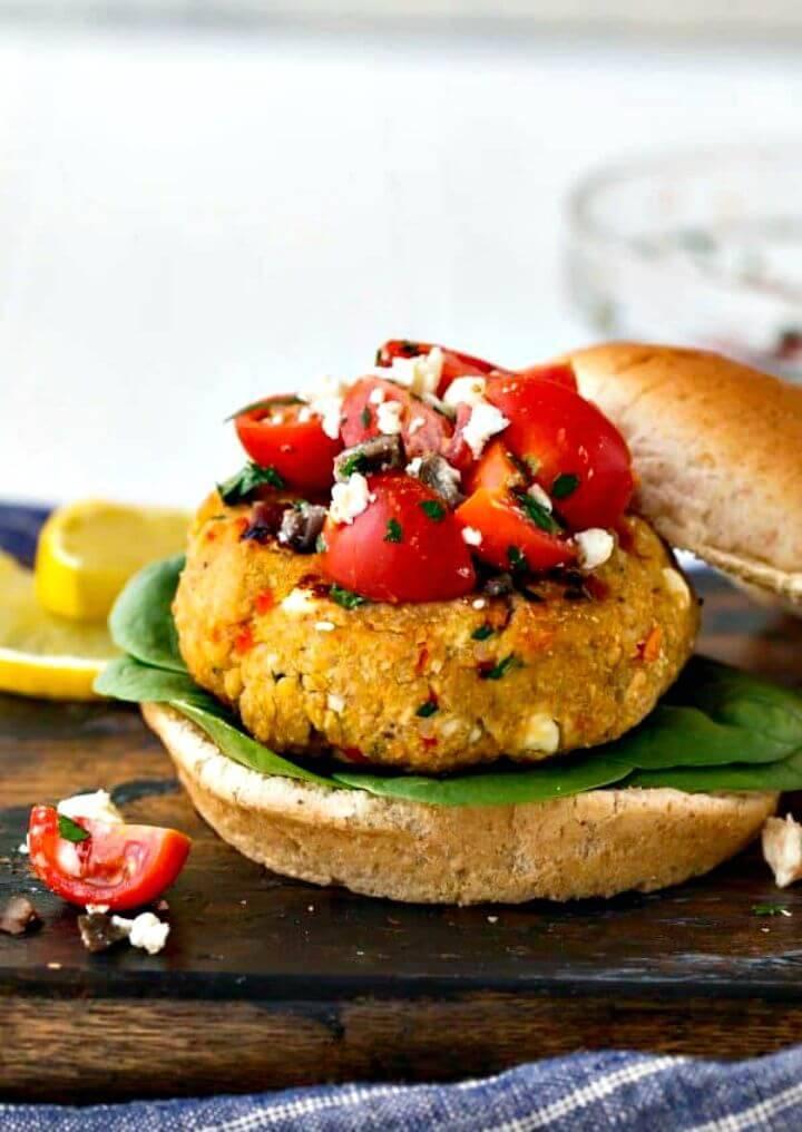Mediterranean Quinoa Burger Recipe