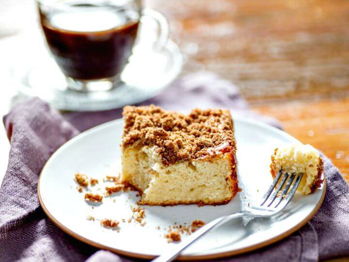 Easy One-bowl Coffee Cake Recipe