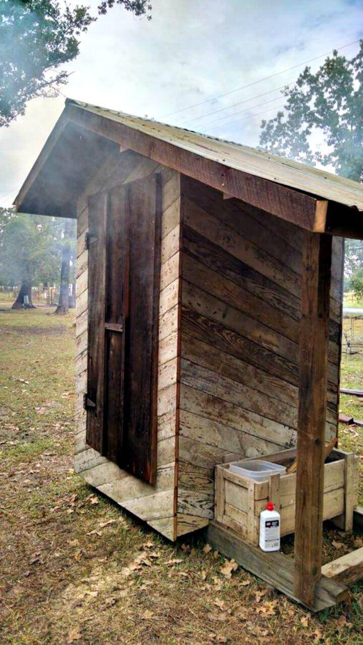 Simple and Easy DIY Smokehouse Tutorial