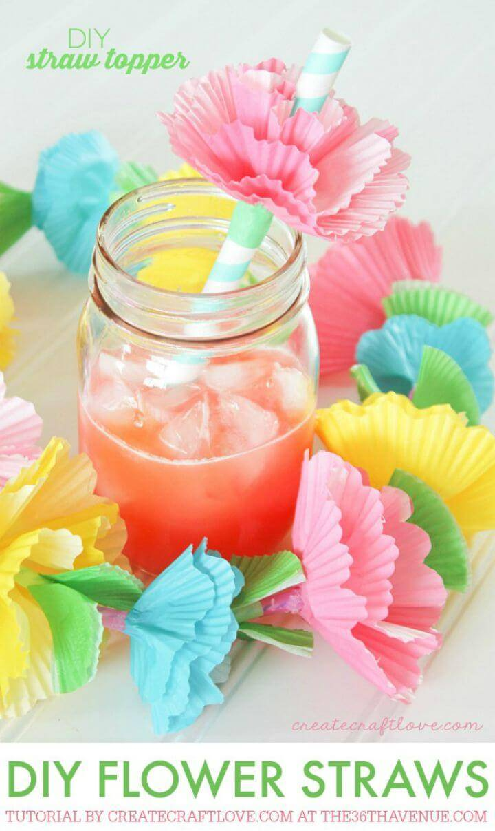 Easy To Make Straws Toppers