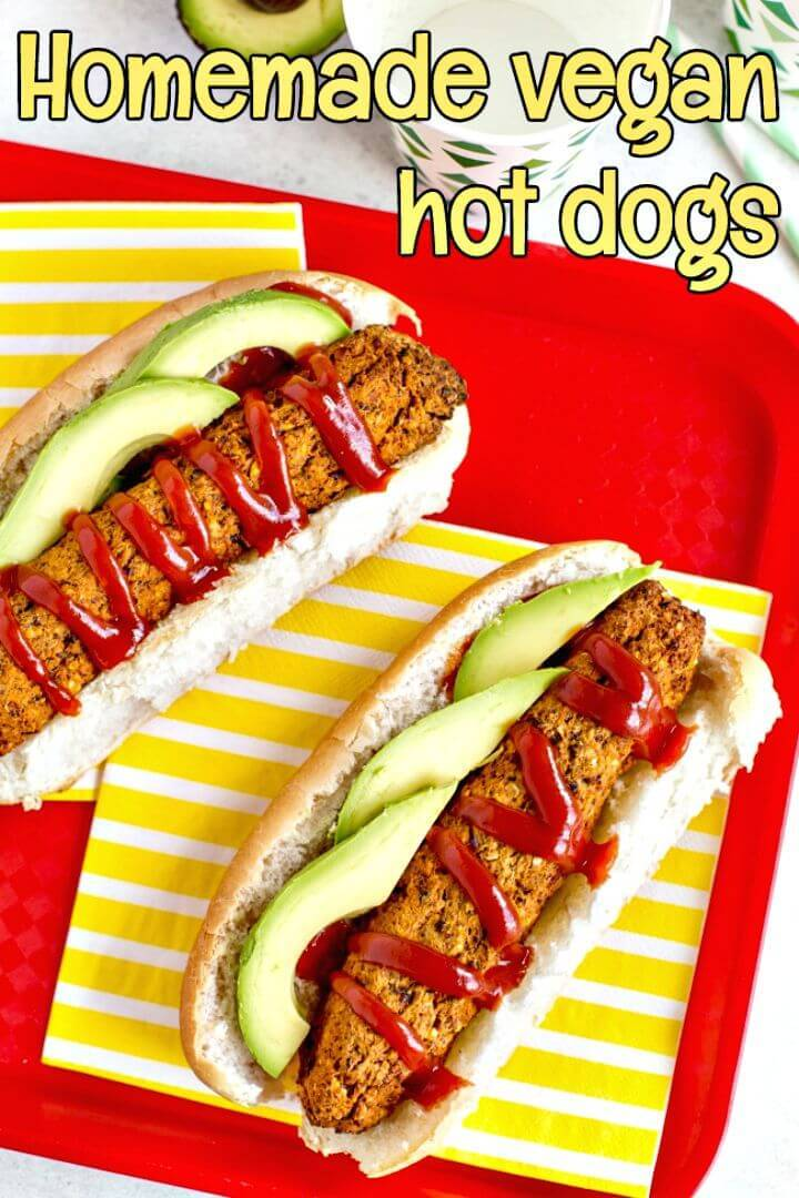 Homemade Vegan Hot Dogs Recipe