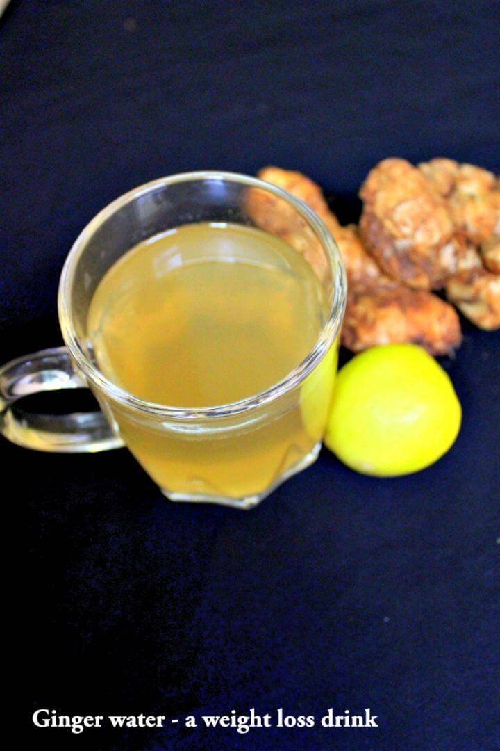 Ginger Water for Weight Loss Recipe