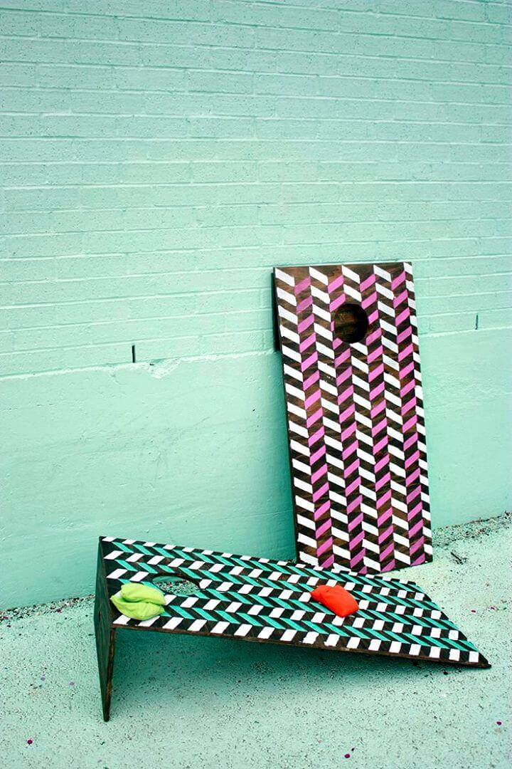 How To DIY Cornhole Boards