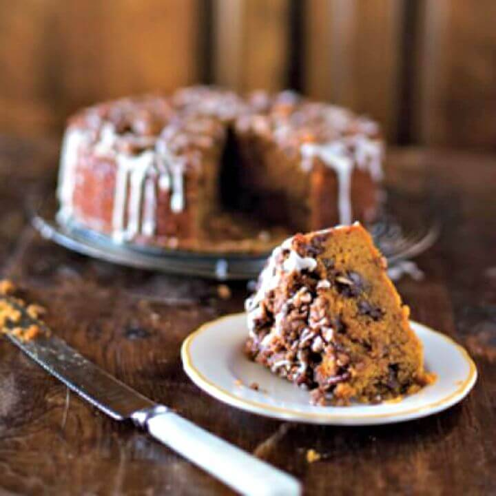 How To Make Pumpkin Coffee Cake Recipe