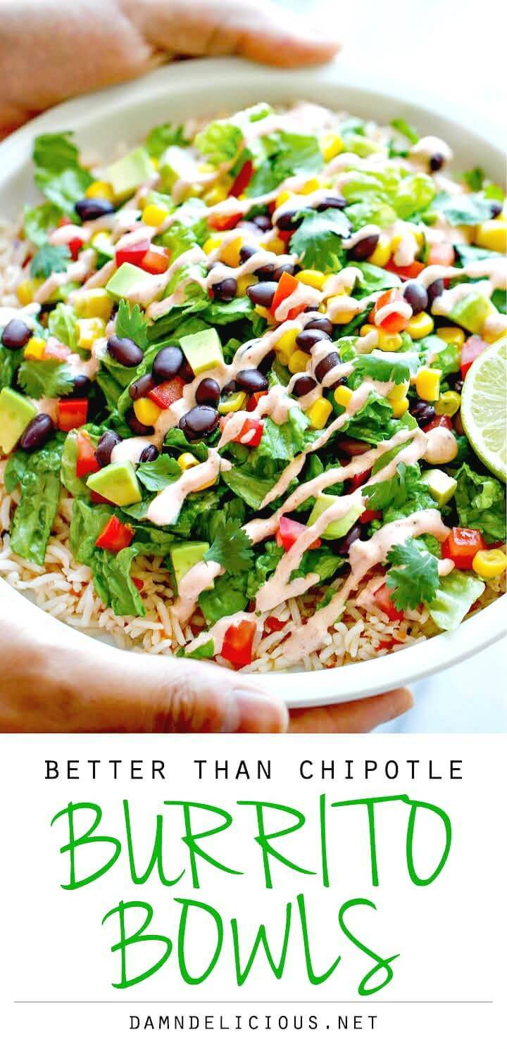 How To Make Burrito Bowls Recipe