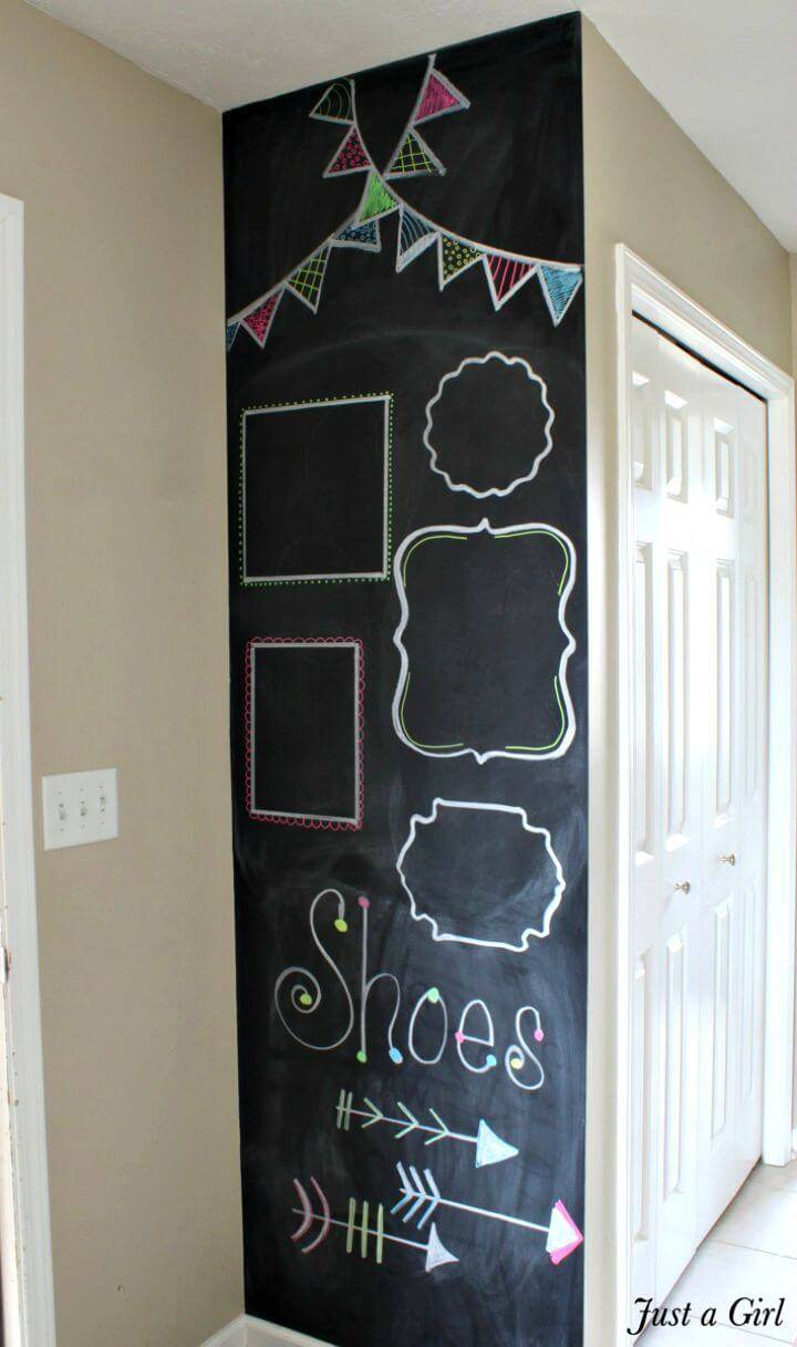 How To Make Chalkboard Wall