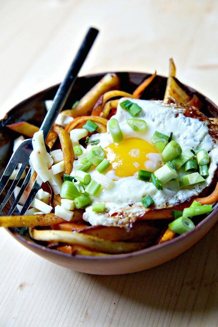 Chipotle Sweet Potato Bowls Recipe