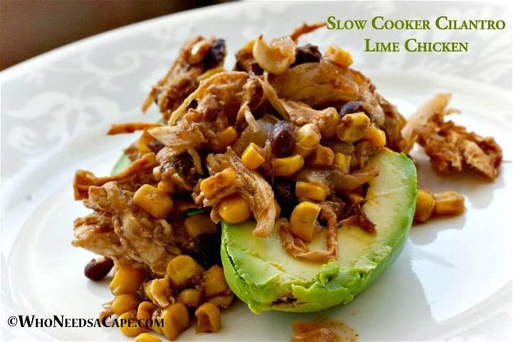 How To Make Cilantro Lime Chicken Recipe - DIY