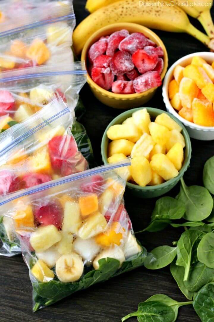 Freezer Smoothie Packs Recipe