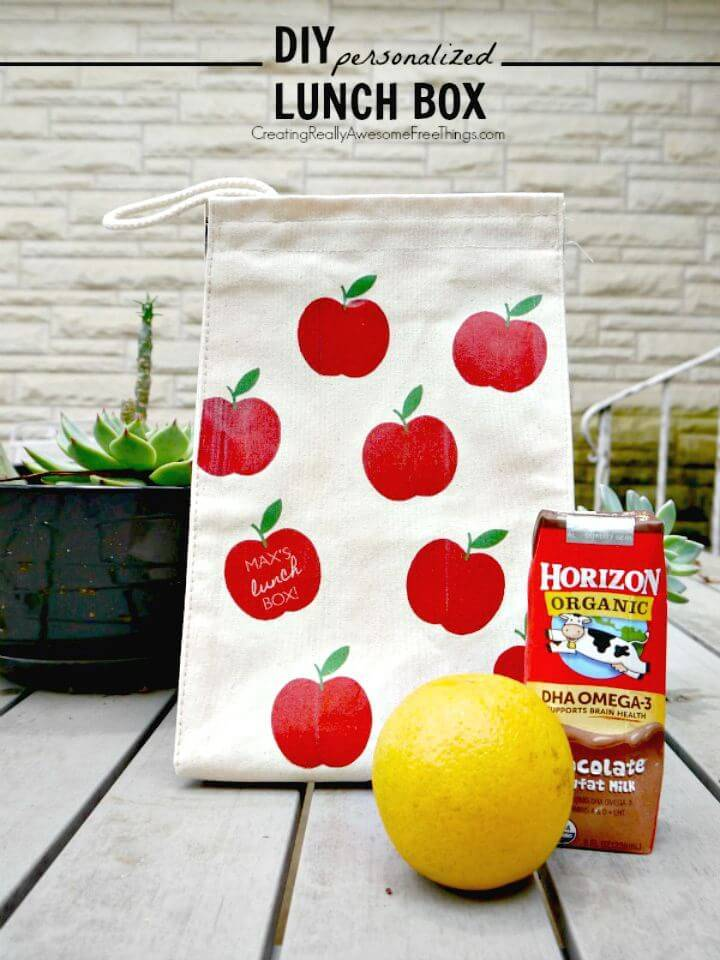 DIY Personalized Lunch Box