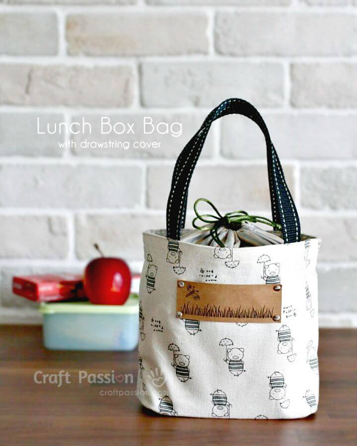 How To Sew Lunch Box Bag