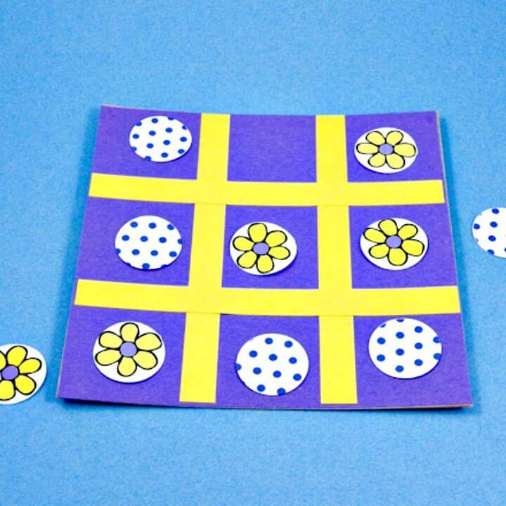 How to Make a Tic-Tac-Toe - Travel Game