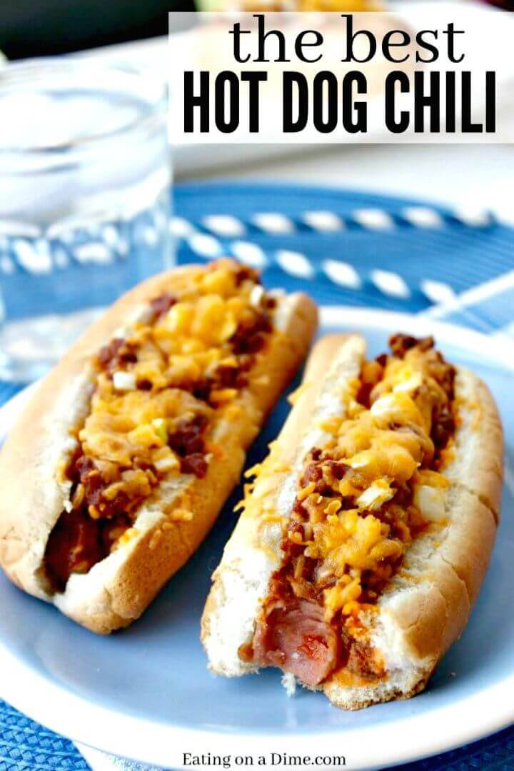 Best Hot Dog Chili Recipe