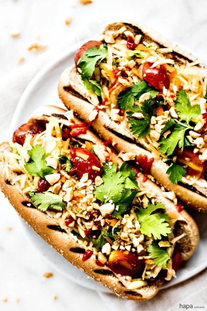 Thai Style Hot Dogs Recipe