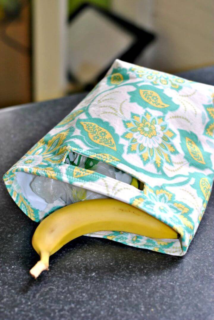 Make Your Own Reusable Lunch Bag