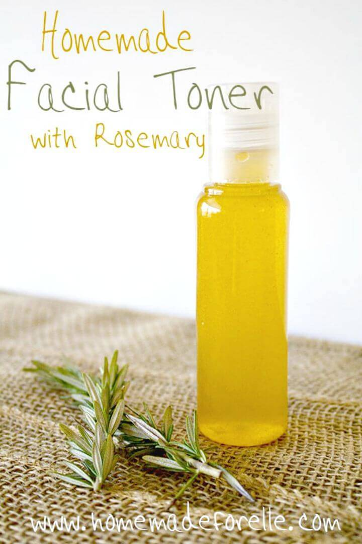 Prepare Facial Toner With Rosemary Recipe - DIY