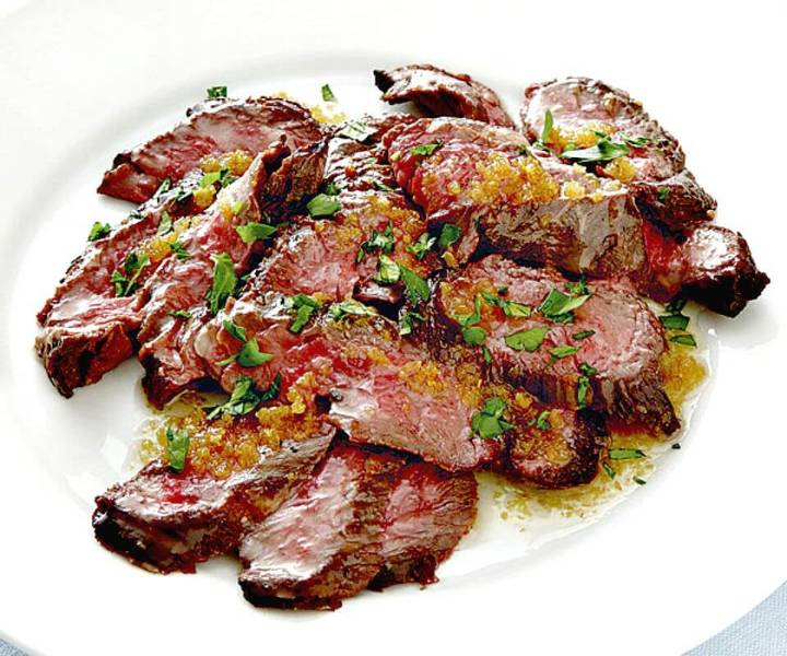 Prepare Garlic Butter Brazilian Skirt Steak Recipe