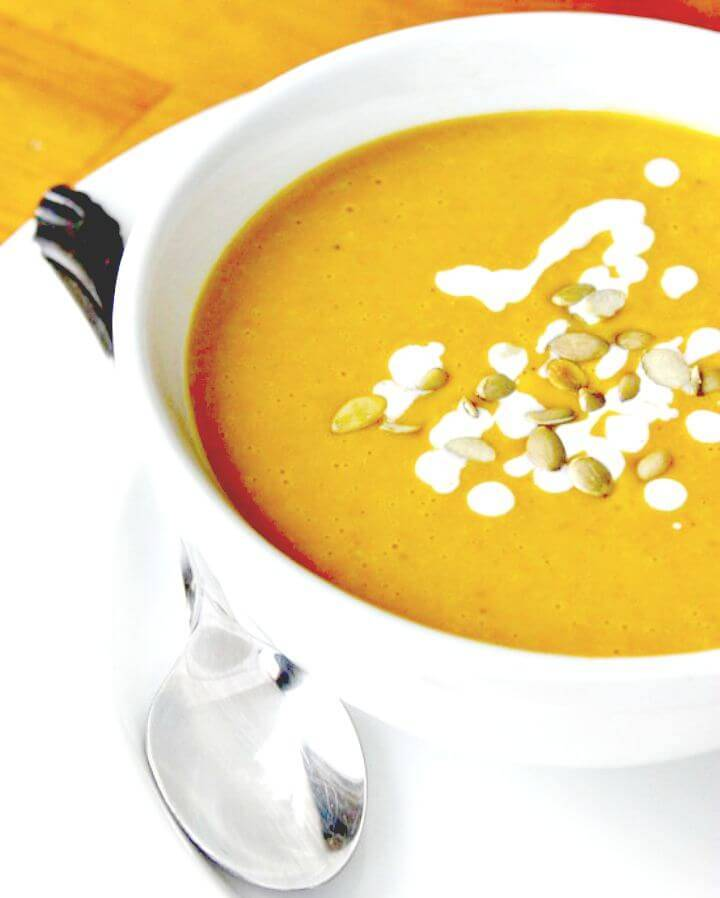 Paleo Pumpkin Soup Recipe