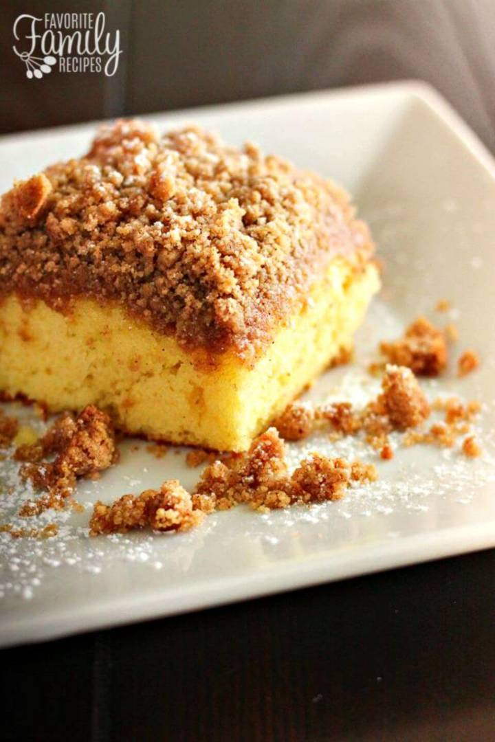 Quick Cake Mix Coffee Cake Recipe